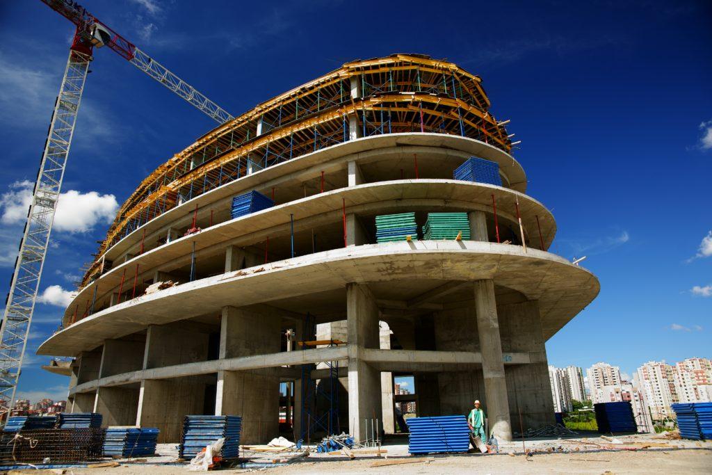 architecture batiment chantier